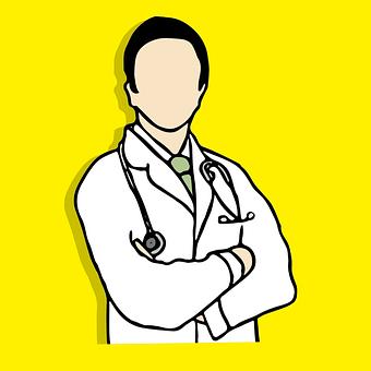 Doctor, Sketchbook, Vector, Symbol, Clinic, Helth