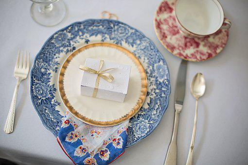 Wedding Shower, Bridal Shower, Place Setting