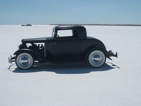Rat Rod, Bonneville, Salt Flats, Roadster