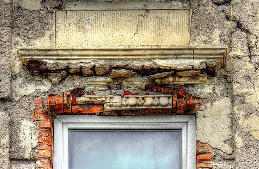 Window, Facade, Expired, Old, Expiration, Brick