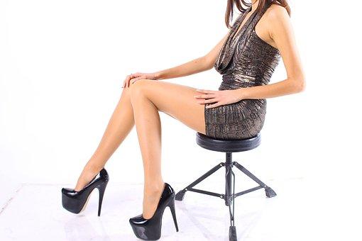 Legs, Pins, Shoes, Business, Woman, Fashion