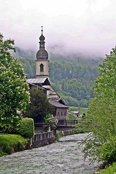Chapel, Berchtesgadener Land, Upper Bavaria