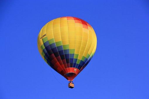 Hot Air Balloon, Colorful, Balloon
