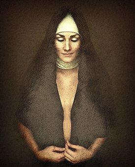 Nun, Faith, Woman, Religion, Prayer, Christian, Face