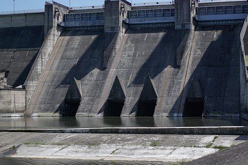 Tama, Dam, Hydro, Lake Dusia, Water, River