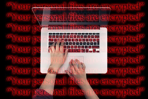 Laptop, Keyboard, Cyber, Attack, Wannacry, Extortion