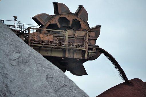 Kolengraaf, Machine, Europoort