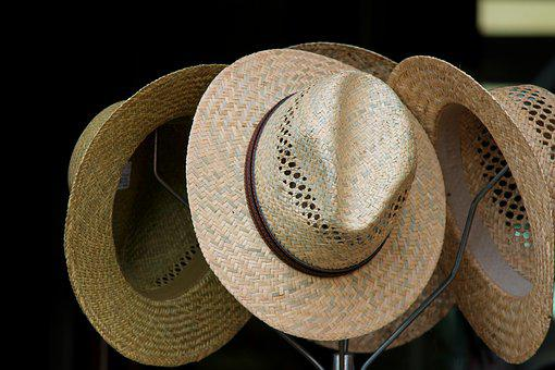 Strohüte, Hats, Hatstand, Parcel Shelf, Sun Hat