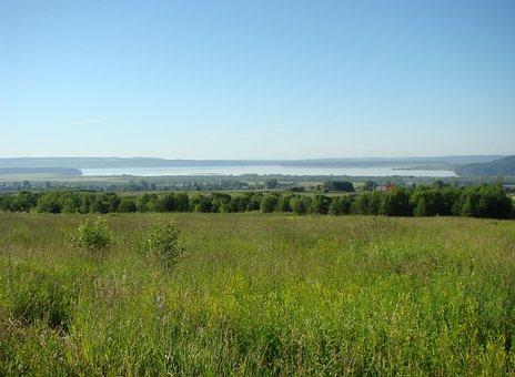 River, Kama, The Mouth Of Ocher, Ocher Bay, Perm Krai