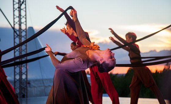 Ballet At Sunset, Sunset, Theatre, Romeo And Juliet