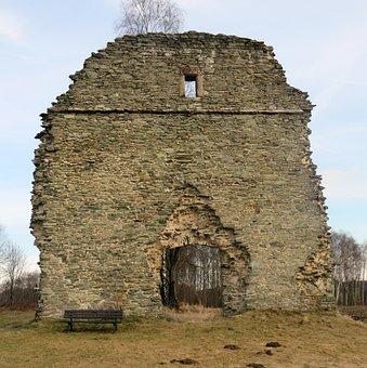 Ruin, Heiling Church, Wirsberg, Pilgrimage Church