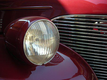 Auto, Car, Vehicle, Automotive, Pkw, Spotlight, Body