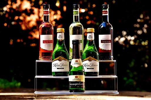 Wines, Bottles, Selection, Alcohol, Beverages