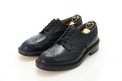 Leather Shoes, Cordovan, Made In Britain, Wing Chips
