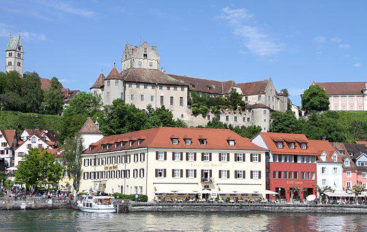 Meersburg, Castle, Winery, Building, Architecture