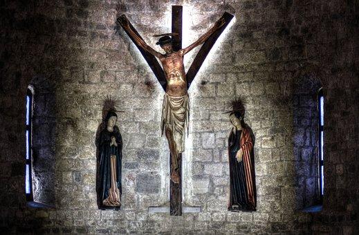 Crucifix, Church, Krk, Faith, Christianity, Religion