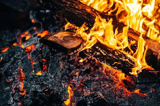 Fire, An Outbreak Of, Hot, Burn