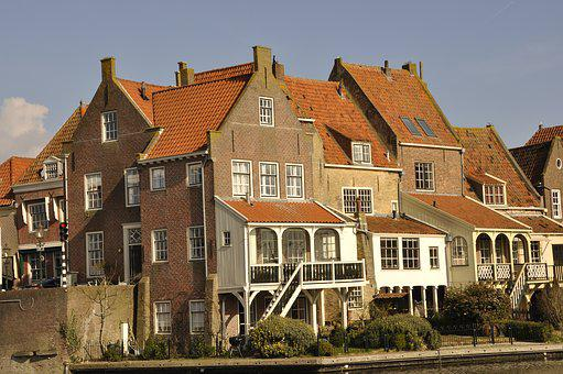 Enkhuizen, Old, Houses, History