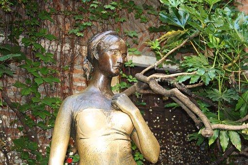 Juliet, Verona, Works, Balcony, History, Tourism, Romeo
