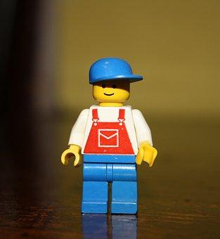 Omino, Lego Man, Lego, Children, Toys, Buildings, Men