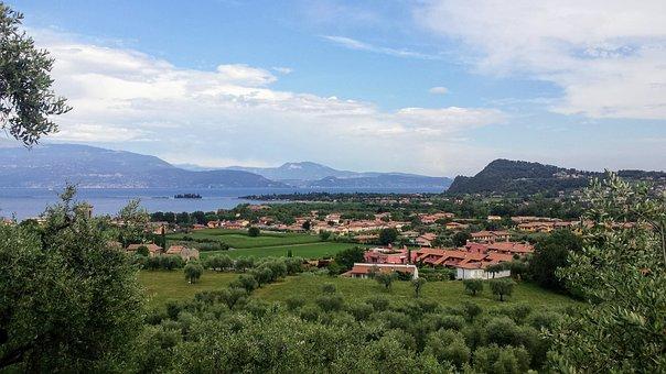 Manerba Del Garda, Lago Di Garda, Italy, Nature, Lake