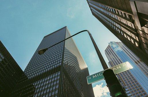 City, Chicago, Big City, America, Usa, Metropolis