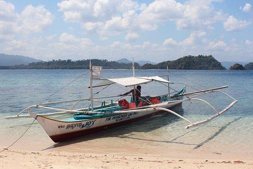 Boat, Sea, Wooden Boat, Water, Ship, Clear, Ocean