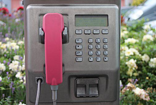 Phone Booth, Telephone, Payphone, Public, Coin, Slot