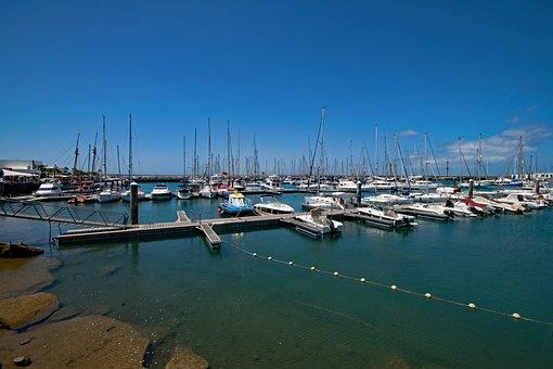 Marina Rubicon, Marina, Yacht, Port, Sea, Lanzarote