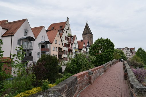 Germany, Walled Town, Rampart, Fortification