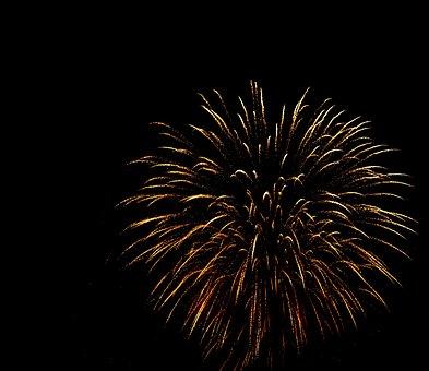 Fireworks, Rockets, Pyrotechnics, Night, Parties