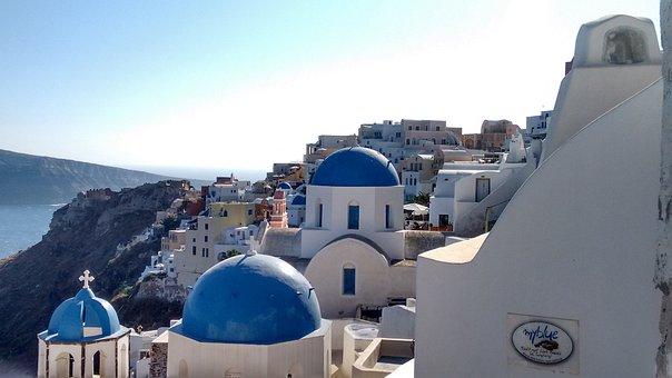 Santorini, Grecia, White Houses