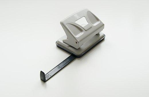 Hole Puncher, Two-hole Hole Punch, Office, Business