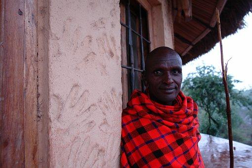 Tanzania, Maasai, Warrior, Masai, Colorful