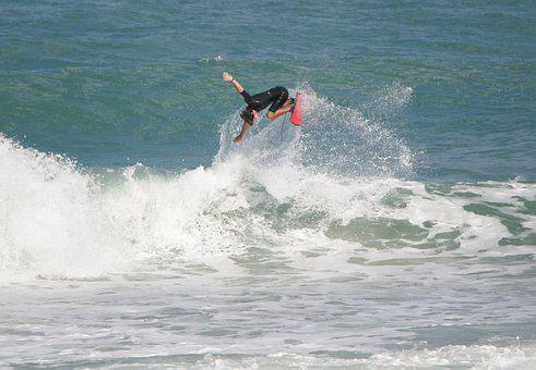 Surfing, Surf, Water, Ocean, Beach, Sea, Wave, Summer