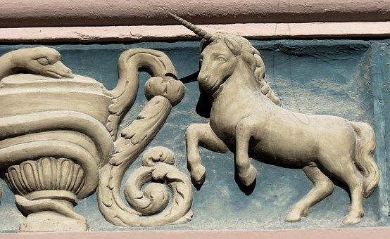 Unicorn, Arts Crafts, Ornament, Rock Carving, Sculpture