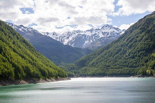 Bergsee, Alpine, Val Senales, Nature, Landscape