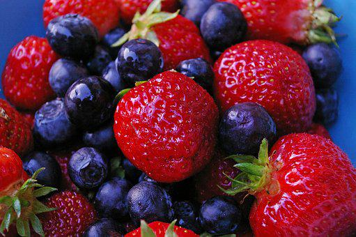 Strawberries, Berries, Red, Fruit, Delicious, Sweet