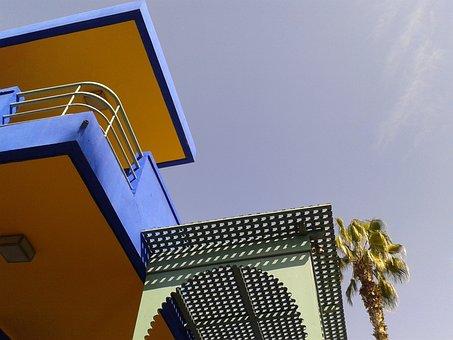 Morocco, Marrakech, Sky, Blue, Summer, Hot, Travel
