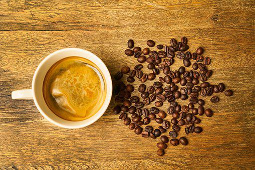 Coffee, Caffeine, Macro, Background, Kitchen, Brown
