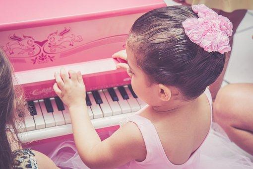 Disney, Ballet Dancer, Child, Piano