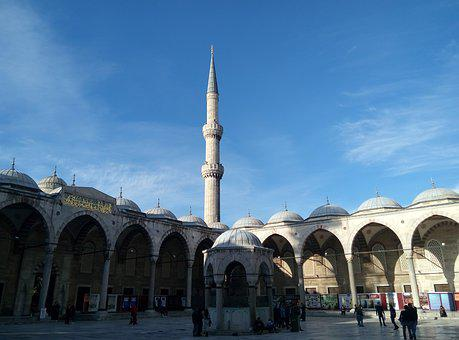 Blue Mosque, Istanbul, Turkish, Moth, Europe, Mosque