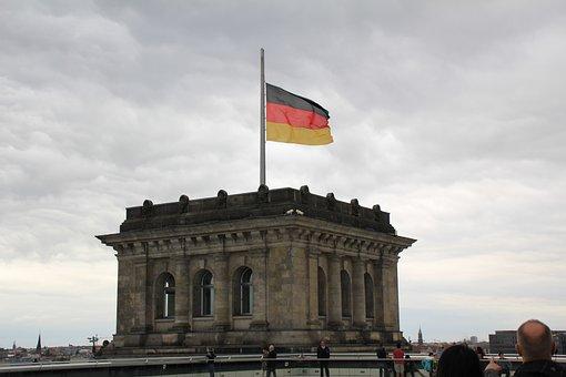 Bundestag, Reichstag, Flag