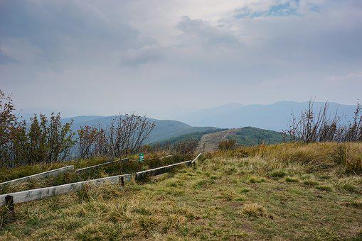 Mountains, Way, Hiking Trail, The Path, Tourism, Cloudy
