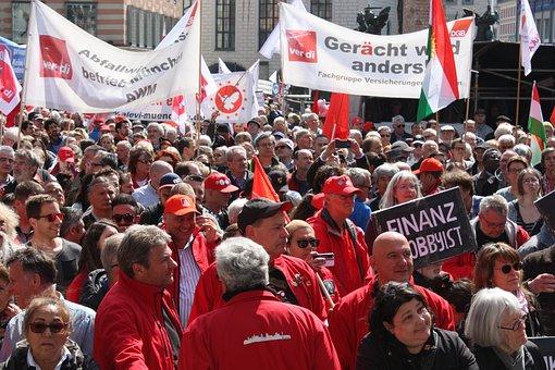 May Day Celebrations, Munich, Crowd
