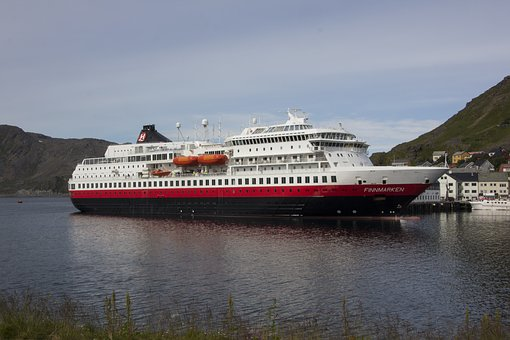 Nordkapp, Ship, Travel, Norway, Finnmark