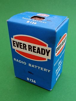 Radio, Battery, 90, Volts, 50, Years, Old, Ever, Ready