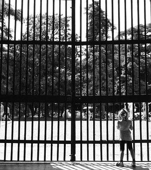 Gate, Grateful, Railing, Safety, Prison, Trap