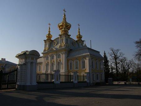 Church, Architecture, Russia, Orthodox Church