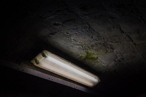 Light, Tunnel, Fluorescent Lamp, Urbex, Bunker